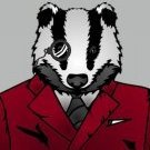 Monocled Badger